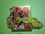 miniature Pin's TGV - LA POSTE