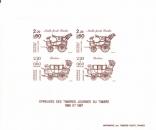 miniature France - Epreuve d´artiste - Journee du Timbre 1986-1987 - Malle Poste et Berline