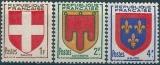 miniature France - Y&T 836 à 838** - MNH