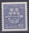 miniature SUEDE 1943 NEUF** N° 302