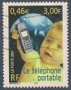 miniature FRANCE 2001 : yt 3374 Oblitéré/Used # Téléphone portable