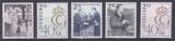 miniature SUEDE 1986 NEUF** N° 1372 à 1376