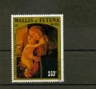 miniature Wallis et Futuna 352 1986 tableau de Botticelli neuf ** TB MNH sin charnela faciale 2.1