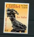 miniature France 3309  sculpture de Camille Claudel 2000 neufs **TB MNH sin charnela  faciale 1.02
