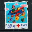 miniature France 3362   croix rouge 2000  neufs ** LUXE MNH sin charnela