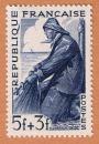 France - Y&T 824 ** - Métiers - pêcheur