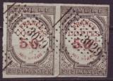 miniature France.Y T 1.Timbre de Dimension -Copies - Bande de 2 timbres.