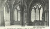 miniature 89 SAINT PERE SOUS VEZELAY  L'église vue intérieure du porche
