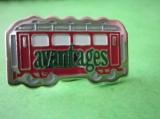 miniature Pin's TRAIN AVANTAGES