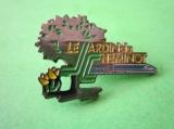 miniature Pin's SNCF - TGV - LE JARDIN DU CHEMINOT