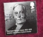 GB 2012 Britons of Distinction Montague Rhodes James