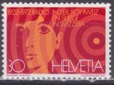 SUISSE 897 - 50 ans de la radio suisse
