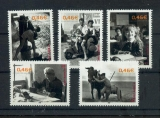 miniature France 3519 3523 2002  vie quotidienne du bf 52 neuf ** TB MNH sin charnela