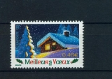 France 3533 2002  Meilleurs voeux chalet neuf ** TB MNH sin charnela
