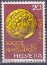 SUISSE 1092 - Centenaire de la Société suisse de numismatique
