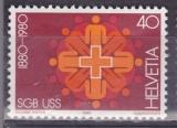 SUISSE 1115 - Centenaire de l'Union syndicale suisse
