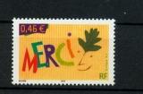 France 3540 2002 Merci neuf ** TB MNH sin charnela faciale 0.46