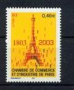 France 3545 2003  bicentenaire chambre de commerce  neuf ** TB MNH sin charnela