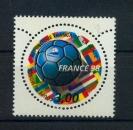 miniature France 3139 SPORT FOOTBALL COUPE DU MONDE 1998 DE feuille neuf luxe ** (MNH sin charnela)