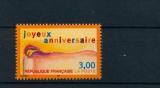 miniature France 3141 joyeux anniversaire 1998  neuf luxe ** (MNH sin charnela) prix de la poste 0.46