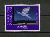 miniature France 3145 1998 le retour peinture de magritte neuf TB** MNH sin charnela