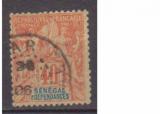 miniature SENEGAL      N°    17           OBLITERE