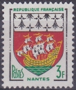 FRANCE 1958 NEUF** MNH N° 1185 Armoiries Nantes