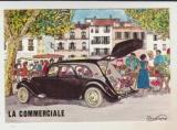 cpm ( 10,5x15 ) La Commerciale Traction Citroën