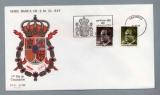 miniature Espagne España FDC Primer dia 1960 Serie Basica de S. M. El Rey