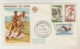 miniature   FDC Niger  Jeux de Dakar 1963
