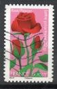 miniature France Oblitéré Adhésif Yvert N°669 Fleurs 2012 Rose