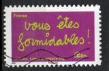 miniature France Oblitéré Adhésif Yvert N°620 Sourires humour 2011 Formidables