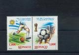 miniature MONACO 2465/2466 sport football  neufs ** luxe MNH prix de la poste 2
