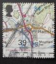 GB 1991 Maps  39p YT 1571 / SG 1544