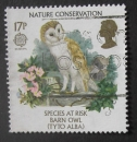 GB 1986 Nature conservation 17p YT 1222 / SG 1313