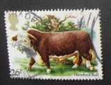 GB 1984 Cattle  26p YT 1119 / SG 1242