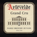SB Sous Bock Sous verre Beer Mat ARTEVELDE Grand Cru Family Brewery Huyghe Since 1654