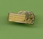 Badge Publicitaire Advertising Pins 20ème Open de Football Metz 92