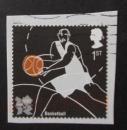 GB 2009 Olympics Basketball (Self-adhesive)