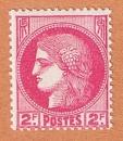 miniature France - 373 ** - Cérès 2 F rose