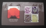 miniature GB 2007 Lest we Forget Mini sheet Mint/neuf **