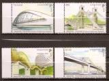 miniature Singapour - 40 ans Relation avec Philippines - Pont Cavenagh Bamban Alexander Marcelo Fernan - Neuf
