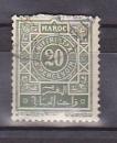 miniature MAROC 1917-26 Y& T N° TAXE 30 Oblitéré