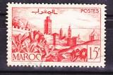 miniature  MAROC 1947-49 Y& T N° 262A Oblitéré
