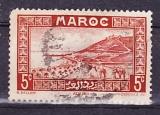 miniature MAROC 1933-34 Y& T N° 131 Oblitéré