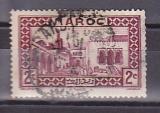 miniature MAROC 1933-34 Y& T N° 129 Oblitéré