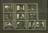 miniature France 2433 2442 timbres du bf 9 cinémathèque neuf ** TB mnh sin charnela faciale 3.35