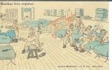 miniature Cpa Humour militaire , sale merlan - razibus très rapidos , carte