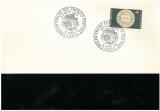 miniature N° 1542 /  FDC / CHEQUES POSTAUX / PARIS 06 01 68