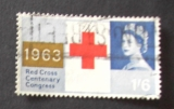 GB 1963 Red Cross  1S6D YT 380 / SG 644